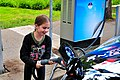 Kendal Williams Charging with CHAdeMO-Eaton DCFC (7415145994).jpg