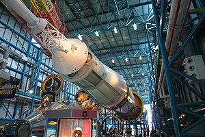Saturn V in KSC