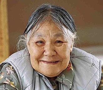 Kenojuak Ashevak - Ashevak in 1997