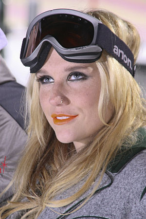 English: Ke$ha in Schladming, Austria Deutsch:...