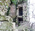 Kilbirnie Place - passageways in the 14th century keep.JPG