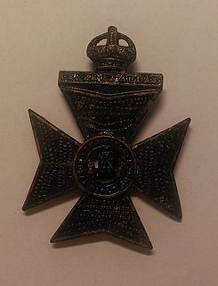 Kings Royal Rifle Corps infantry rifle regiment of the British Army