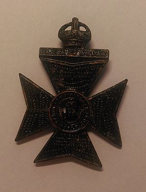 King's Royal Rifle Corps - Cap badge of the King's Royal Rifle Corps