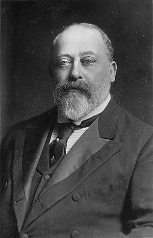 portrait photograph of Edward VII