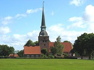 Kippinge Church Church in Falster, Denmark