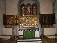 Kirche Trondenes Altar