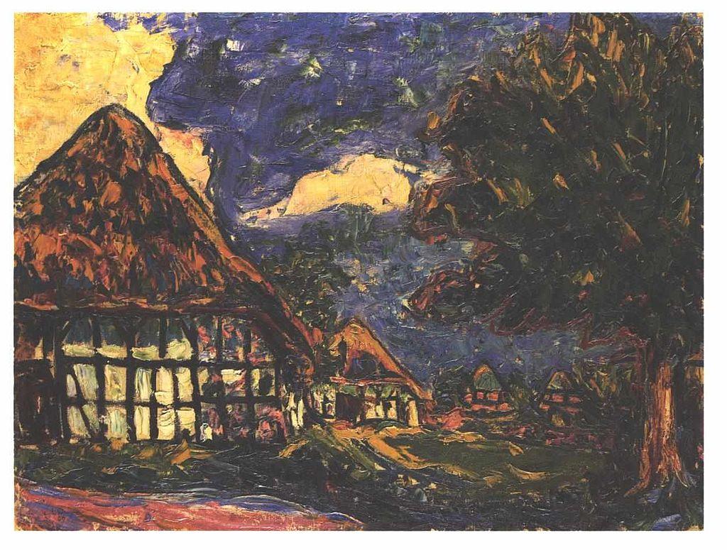 Kirchner - Haus auf Fehmarn