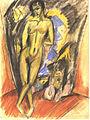 Kirchner - Stehender Akt vor Zelt.jpg