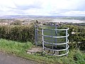 Kissing Gate on public footpath near Llangennech - geograph.org.uk - 759541.jpg