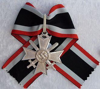 War Merit Cross - Knights Cross of the War Merit Cross with Swords
