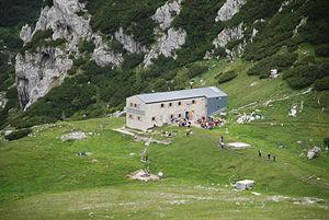 Kocbek Lodge at Korošica - Image: Koca na Korosici