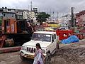 Kolkata Metro Railway - East West Corridor - Under Construction - Howrah Maidan - Howrah 2012-08-11 01570.jpg