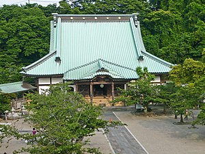 Japanese Buddhist architecture - The roof is the dominant feature of a Buddhist temple.