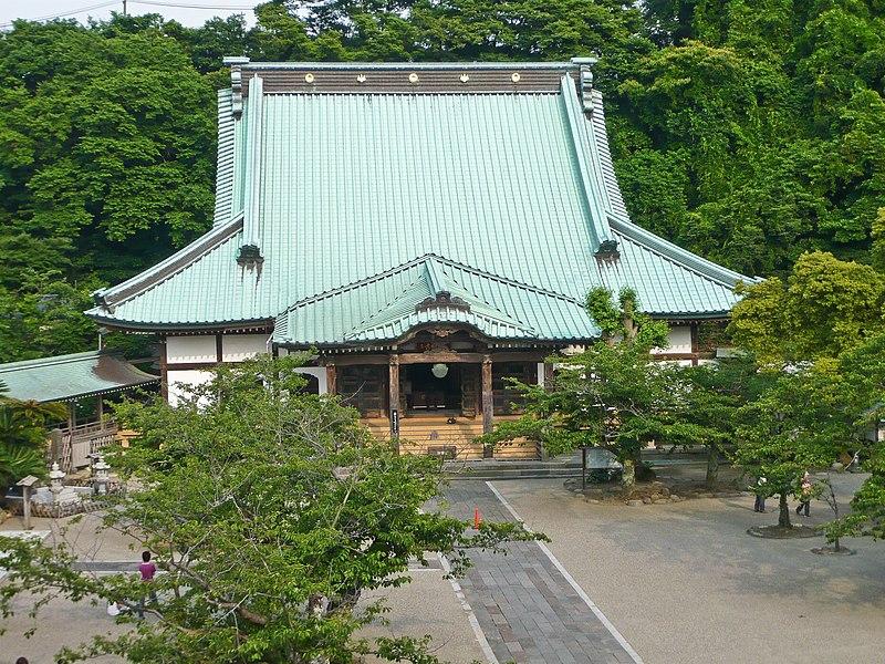 Les temples japonais 800px-Komyo-ji_Main_Hall