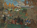 Konstantin Gorbatov - Village with Two Figures.jpg