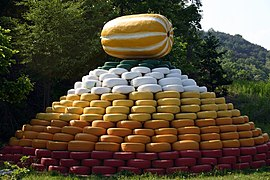 Korea-Yecheon County-Korean melon Tower at Wolpori-01.jpg