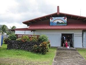 Kosrae International Airport - Image: Kosrae Airport