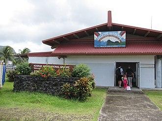 Kosrae - Kosrae Airport