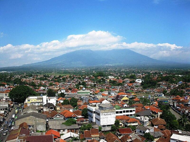 File:Kota Bogor & Gunung Salak.jpg