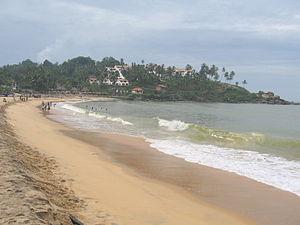 Beaches in Kerala - Kovalam beach in Thiruvananthapuram