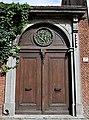 Krankenstraat Mechelen - rondboogpoort Lod XVI-stijl (eind 18e eeuw) 13-09-2018.jpg