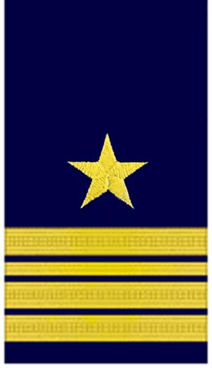 Fregattenkapitän - sleeve lace