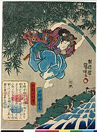 Kumawakamaru by kuniyoshi - 24 paragons of filial piety