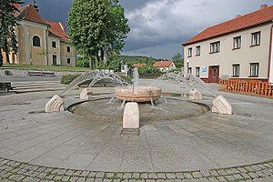 Kunštát - Image: Kunštát náměstí