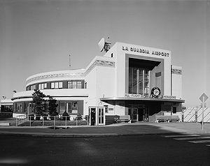 LaGuardia Airport - Marine Air Terminal in 1974