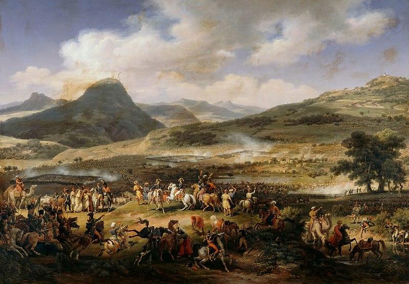 File:La Bataille du mont Tabor, en Syrie, le 27 germinal an VI by Louis François Lejeune Salon de 1804.jpg