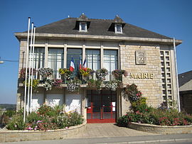 The town hall of La Bouëxière