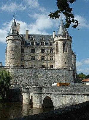 La Rochefoucauld, Charente - Castle of La Rochefoucauld