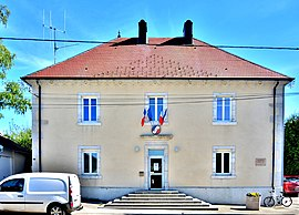 The town hall in Germéfontaine