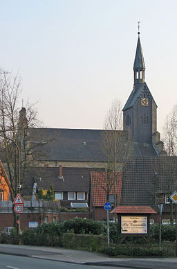 Ladbergen, Zentrum, evangelische Kirche