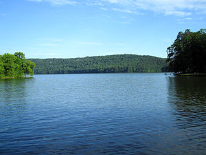 Lake Hamilton and Lake Catherine - Image: Lake Catherine AR kmf