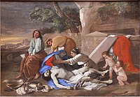 Lamentation of Christ by Nicolas Poussin (1628) - Alte Pinakothek - Munich - Germany 2017.jpg