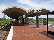 Landover station from inbound end of platform.jpg