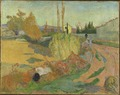 Landscape from Arles (Paul Gauguin) - Nationalmuseum - 18739.tif