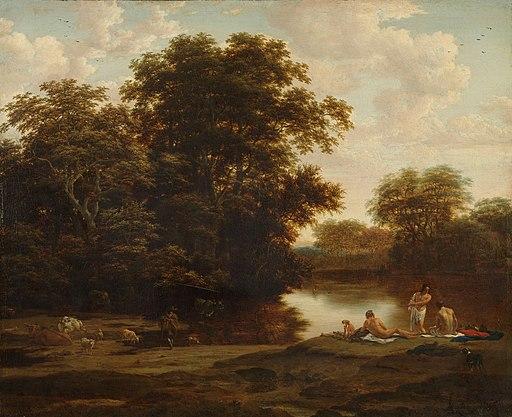 Landschap met baders Rijksmuseum SK-A-33