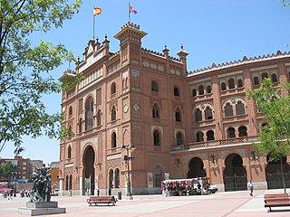 bullring in Madrid