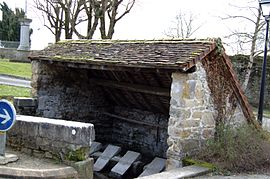 The Audaux Lavoir (Public laundry)