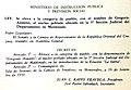 Law 12.630, Gregorio Aznarez.jpg