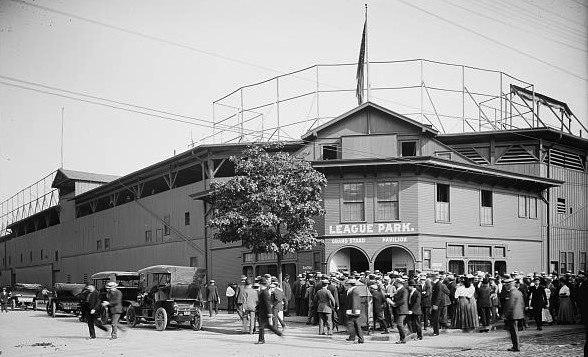 League Park Cleveland circa 1905 CROPPED