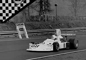 Lella Lombardi - Lombardi at the 1975 Race of Champions driving a March 751