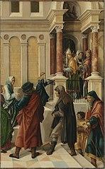 Mariae Tempelgang (zugeschrieben)
