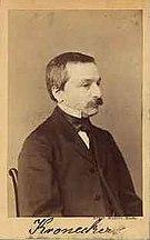 Leopold Kronecker -  Bild
