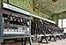 Lever frame in the Sourbrodt train station signal box (DSCF5829).jpg