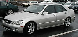 US-spec Lexus IS300