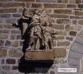 Liège, Collégiale St-Denis, statue Ange gardien (C Vanderveeken).JPG