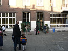 مدرسة في بلجيكا في أول يوم من أيام